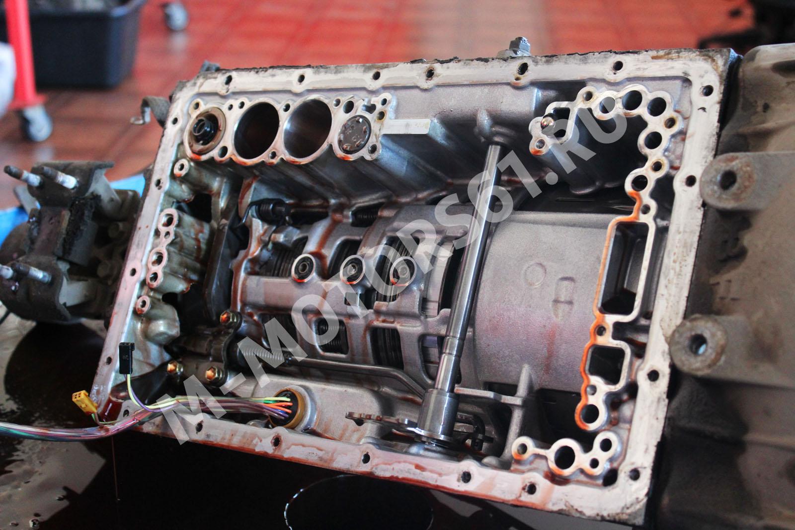Разборка АКПП A960E (Lexus GS 300)