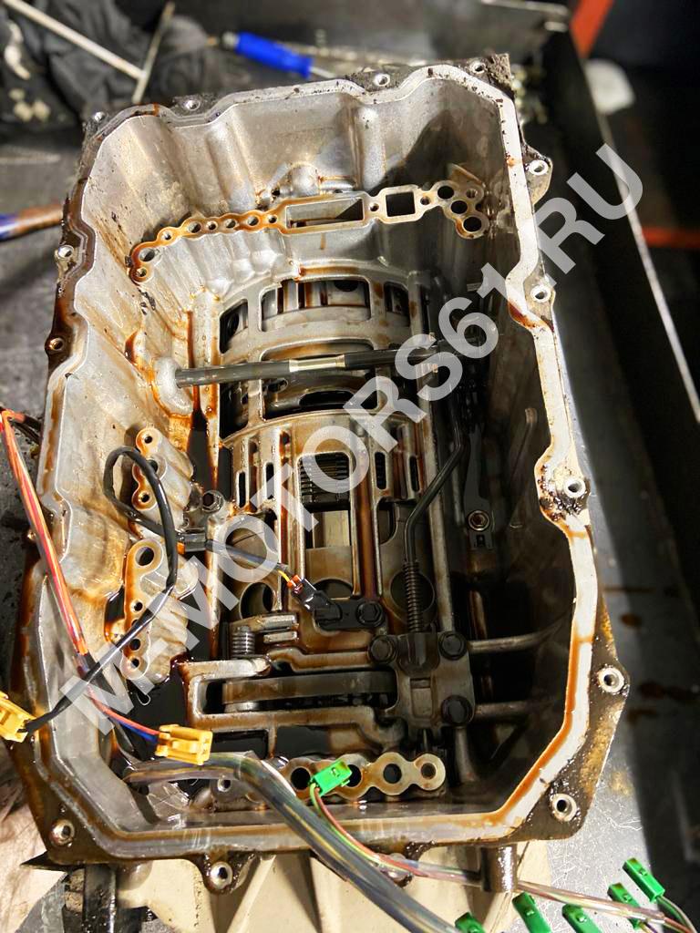 Разборка АКПП Audi Q7